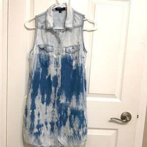 Velvet heart Sleeveless Mini dress